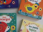 Collection livre musical petits poissons dans l'eau Petit escargot petit lapin poule