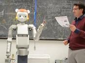 Robotisation l'enseignement robots, futurs professeurs