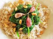 Epinards l'ail rôti pignons (Vegan)