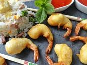 Beignets crevettes