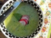Soupe fanes radis Radish Leaf Soup