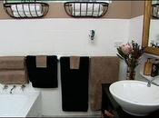 salle bain était catastrophe, mais elle réussi transformer avec d'argent d'effort