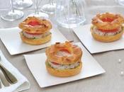 Paris Brest d'avocat émietté crabe herbes Demarle