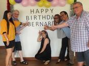 Thaïlande, Udonthani. Invitation l'Anniversaire Bernard Ribet.