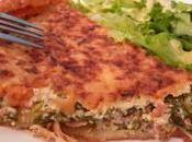 Quiche salade cuite poulet rôti {pour jeter flétrie...}