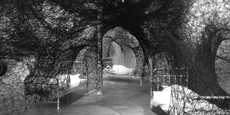chiharu shiota, contemporary art, installation, galerie art, art, daniel templon, japon, artiste, plasticien, performance, memory, shiota, galerie daniel templon, bruxelles, 2016, sleeping is like death