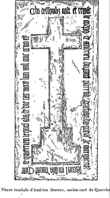 [ Querrieu ] Liste des curés depuis 1223