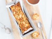 Gâteau fondant pommes sauce caramel beurre salé