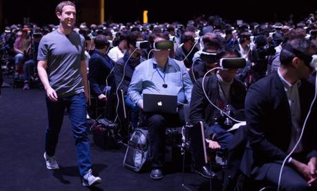 Facebook va miser sur des lunettes AR