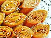 Gâteaux Langues d'oiseaux miel