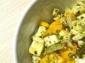 Recette Casher BIO: Salade Fenouil, Mangue pesto sarrasin