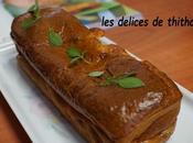 cake tomates, mozarella basilic