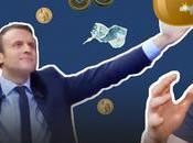 Macron candidat finance