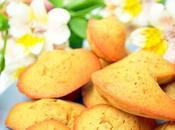 madeleines végétaliennes sans gluten