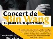 Caritatif Concert piano Paris Sorbonne, Wang contre pauvreté profit d'ATD Quart Monde
