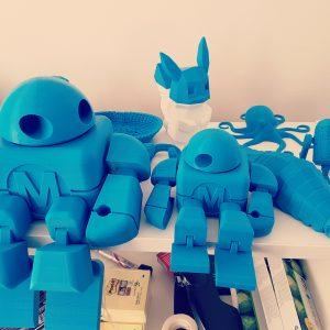 Objet imprimé avec la Makerbot replicator 5+