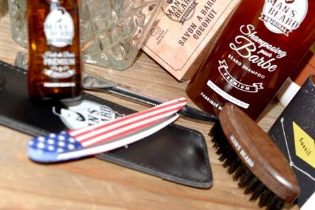 Test du shampoing à barbe Man's Beard et autres nouveautés