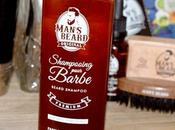 Test shampoing barbe Man's Beard autres nouveautés