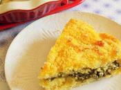 Gâteau Polenta tout verdure, fois moelleux croustillant