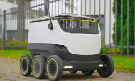 Starship Technologies : les robots livreurs débarquent en ville