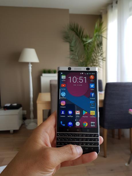 BlackBerry Keyone : voici mon premier retour après quelques jours d'utilisations.