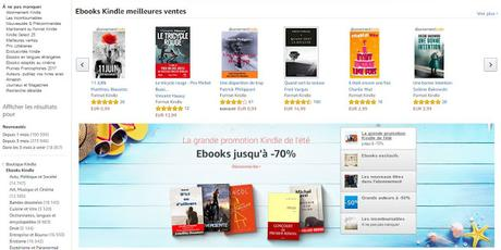 La grande promotion Kindle de l'été