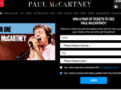 Gagnez billets concert pour applaudir Paul McCartney #paulmccartney #oneonone