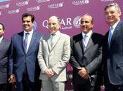 Qatar Airways présenté Qsuite, siège primé, l'occasion l'ouverture Salon