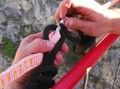 Highline chute Backup 155m Partie Corde semi-statique fall Part Semi static rope