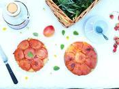 Recette tarte tatin abricots mélisse