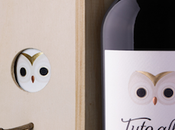 PACKAGING This Wood Wine turns into Bird House