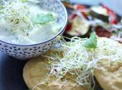 Galettes pois chiches légumes sans gluten lactose