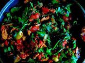 Ragoût saucisses, champignons épinards