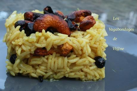 Riz aux fruits secs, épices et safran (Somalie)