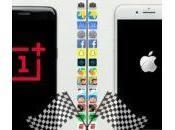OnePlus smartphone Android plus rapide l'iPhone Plus