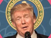 Donald Trump oréolé