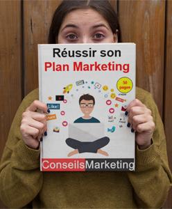 """Je vous offre mon guide """"Réussir son Plan Marketing"""" – 80 pages"""