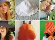 patrons chapeaux d'été
