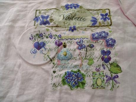 Savon à la violette Madame la fée au 15 juillet 2017