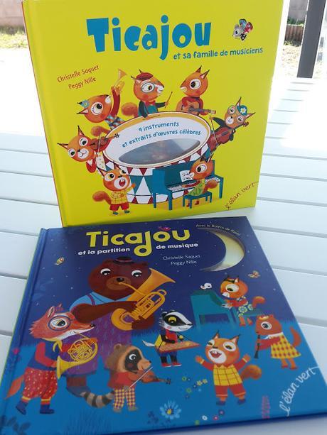 Ticajou et sa famille de musiciens - Ticajou et la partition de musique