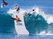 Admirez Dock flottant Volcom destination surfeurs