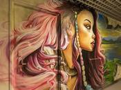 street-artistes revisitent cinq étages Cité Universitaire Paris