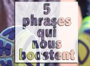 Running phrases nous boostent