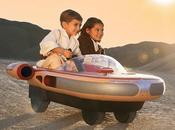 Star Wars lancement d'un Landspeeder électrique pour enfants