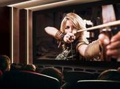 Ouverture première salle cinéma équipée d'un écran géant