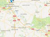 Voyage France étape Paris environs