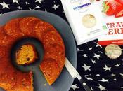 Banana bread fraises séchées sans gluten avec partenaire Elixanatur.fr