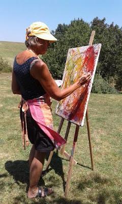 9 et 10 septembre stage de peinture intuitive dans le Var
