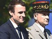 Emmanuel Macron armées silence, c'est chef