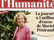 très sociale Muriel Penicaud réalisé plus value personnelle 1266€ salarié licencié chez Danone.
